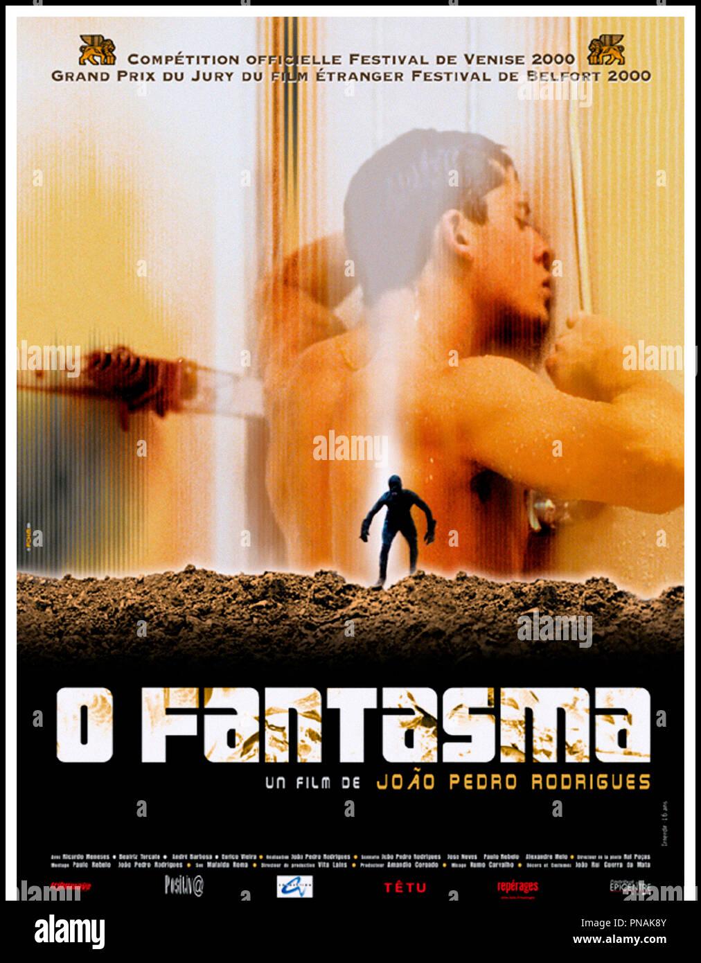 Prod DB © ICAM - RTP - Rosa Filmes / DR O fantasma (O FANTASMA) de João Pedro Rodrigues 2000 porta. Affiche française autre titre : Le fantasme Immagini Stock