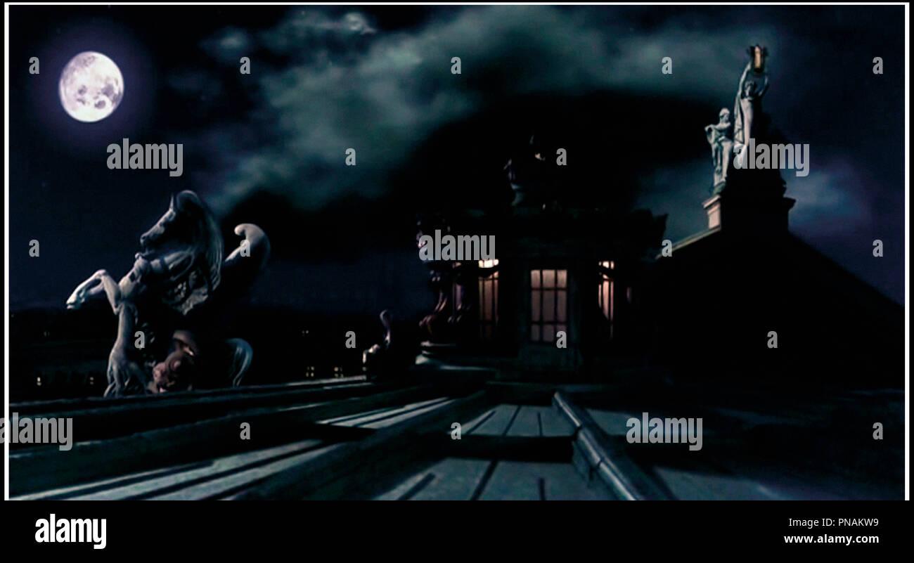 Prod DB © Medusa - Focus / DR LE FANTOME DE L'opéra (IL FANTASMA DELL'OPERA) de Dario Argento 1998 ITA. fantastique, ambiance, lune d'apres le roman de Gaston Leroux Immagini Stock