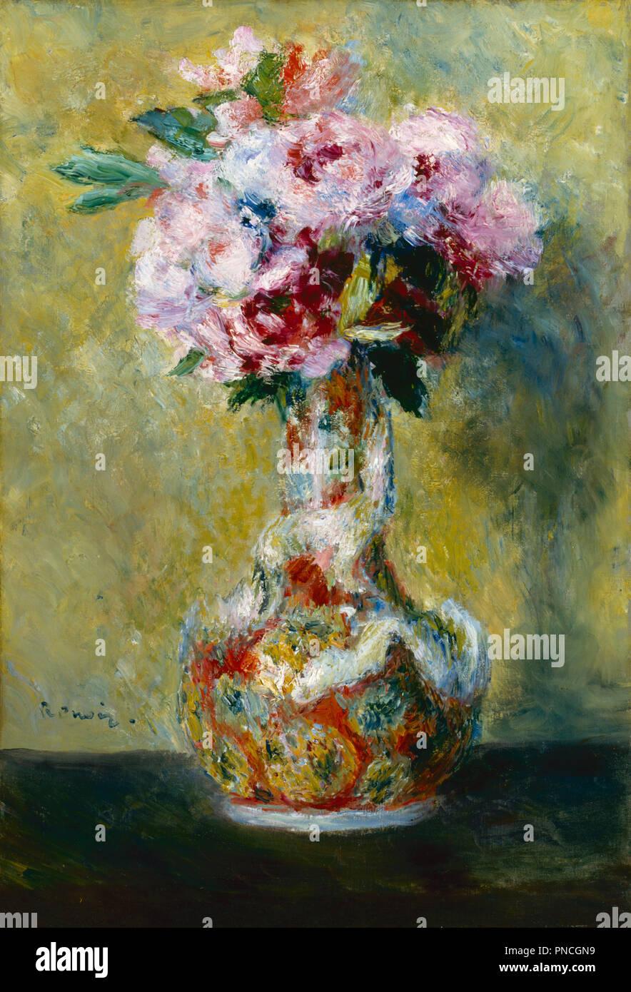 Mazzo Di Fiori Su Una Sedia Renoir.In Renoir Style Immagini In Renoir Style Fotos Stock Alamy