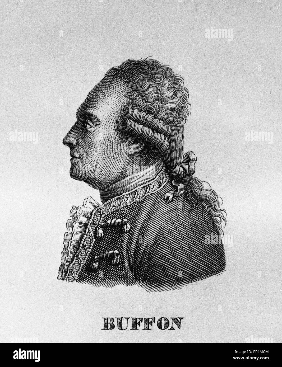 Alla Francese Posizione george-louis leclerc (1707-1788), il conte di buffon