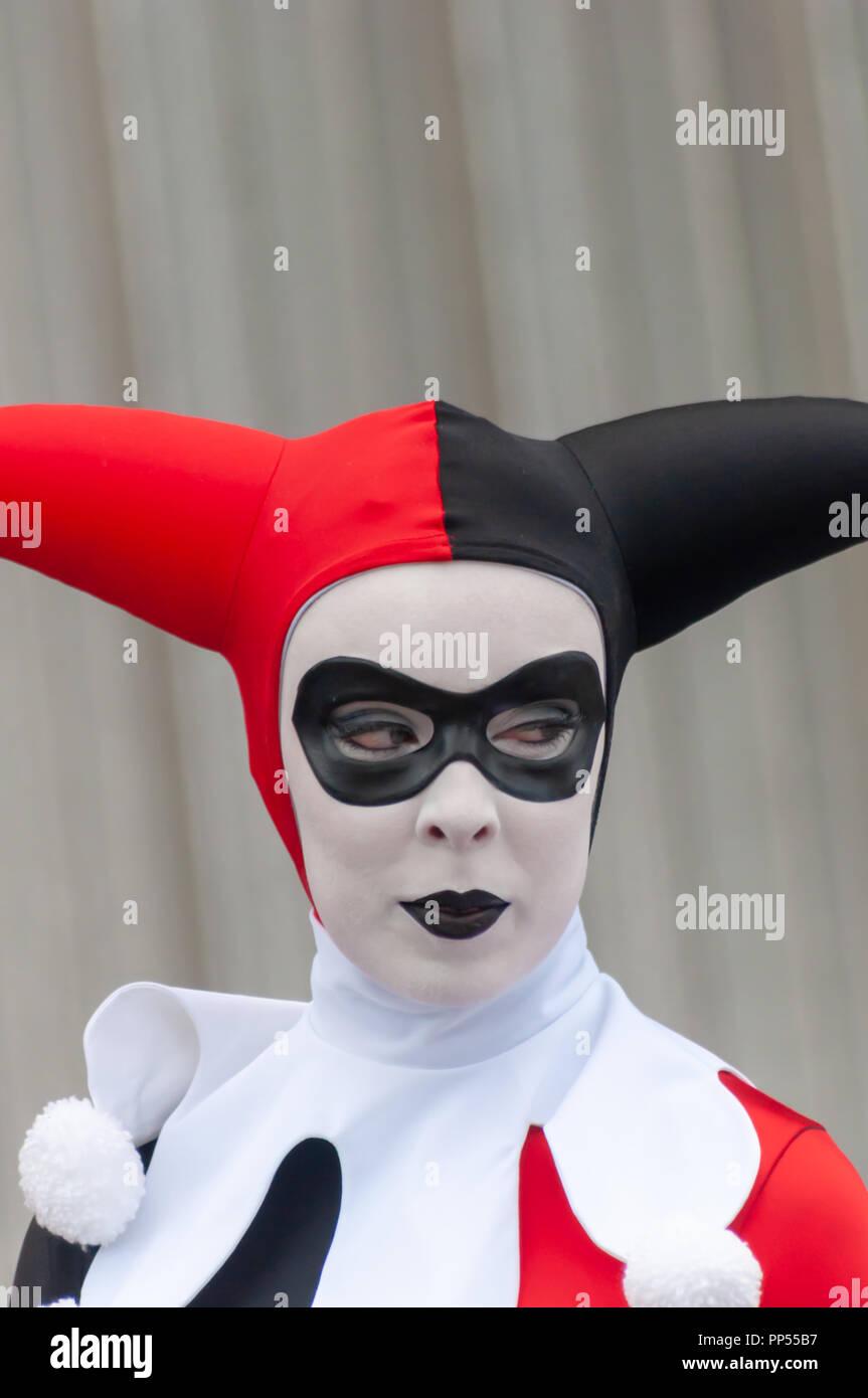 5850e411744c Glasgow, Scotland, Regno Unito. 23 Settembre, 2018. Un cosplayer vestito  come