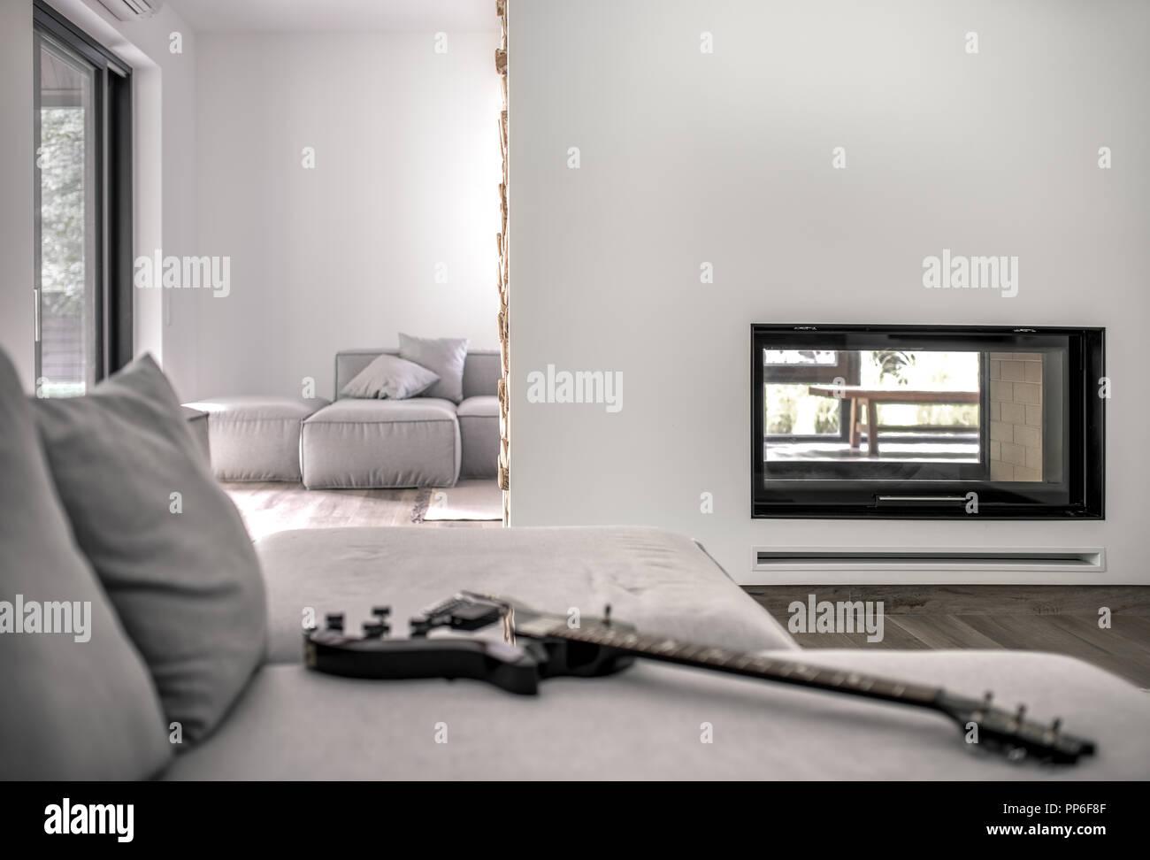 Arredamento Moderno Elegante : Elegante arredamento moderno dell appartamento u foto stock