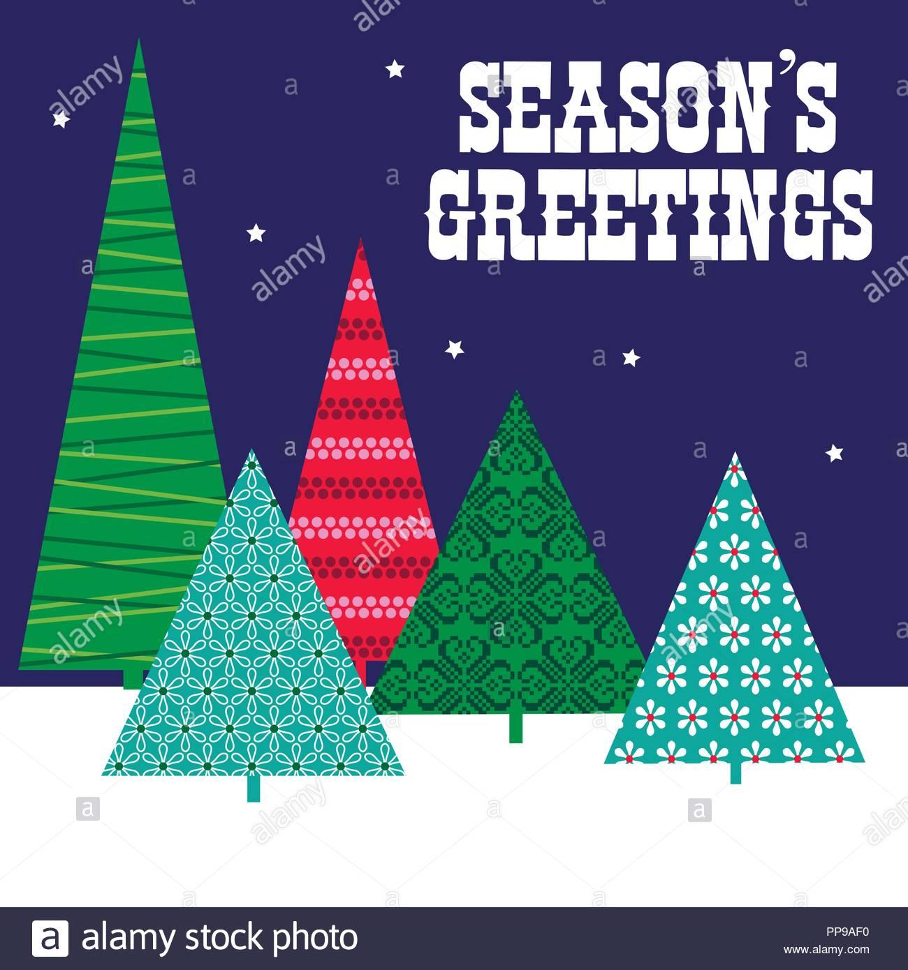 I Migliori Auguri Di Buon Natale.Alberi Modellato I Migliori Auguri Di Buon Natale Natale Graphic