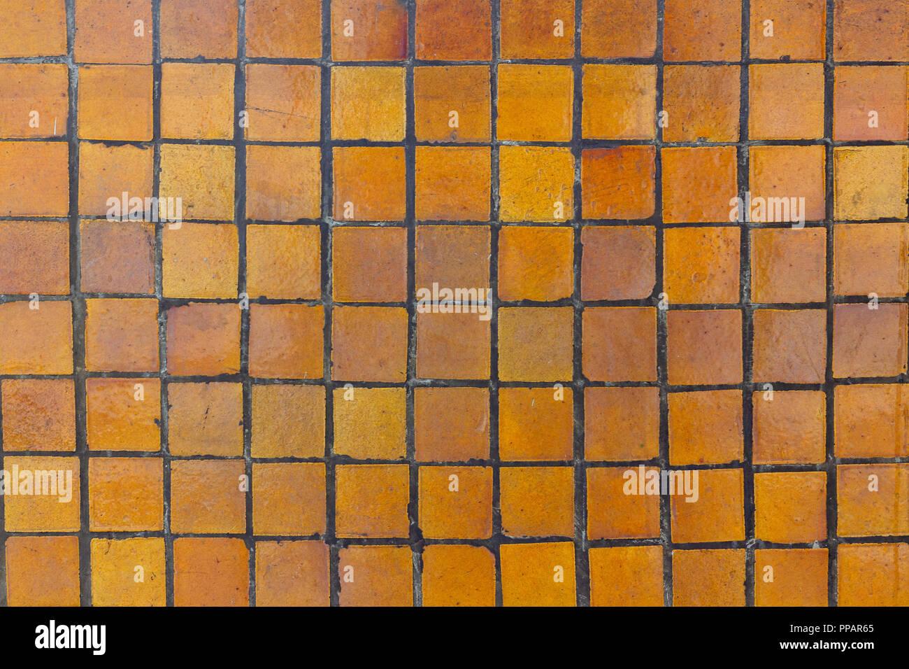 Vecchie piastrelle ceramiche seamless old mosaico di piastrelle di
