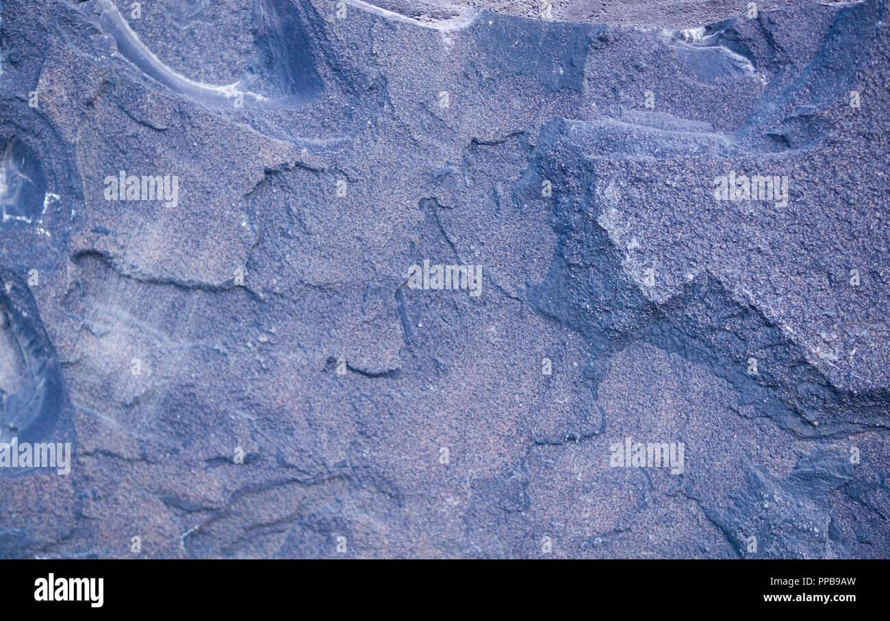 Granito blu in piastrelle di pietra background geologici texture