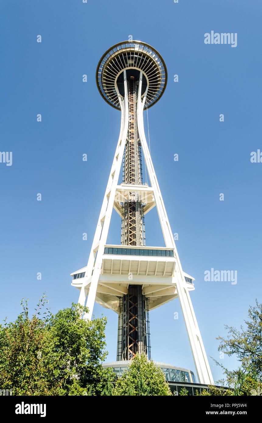 Seattle Space Needle Immagini Stock