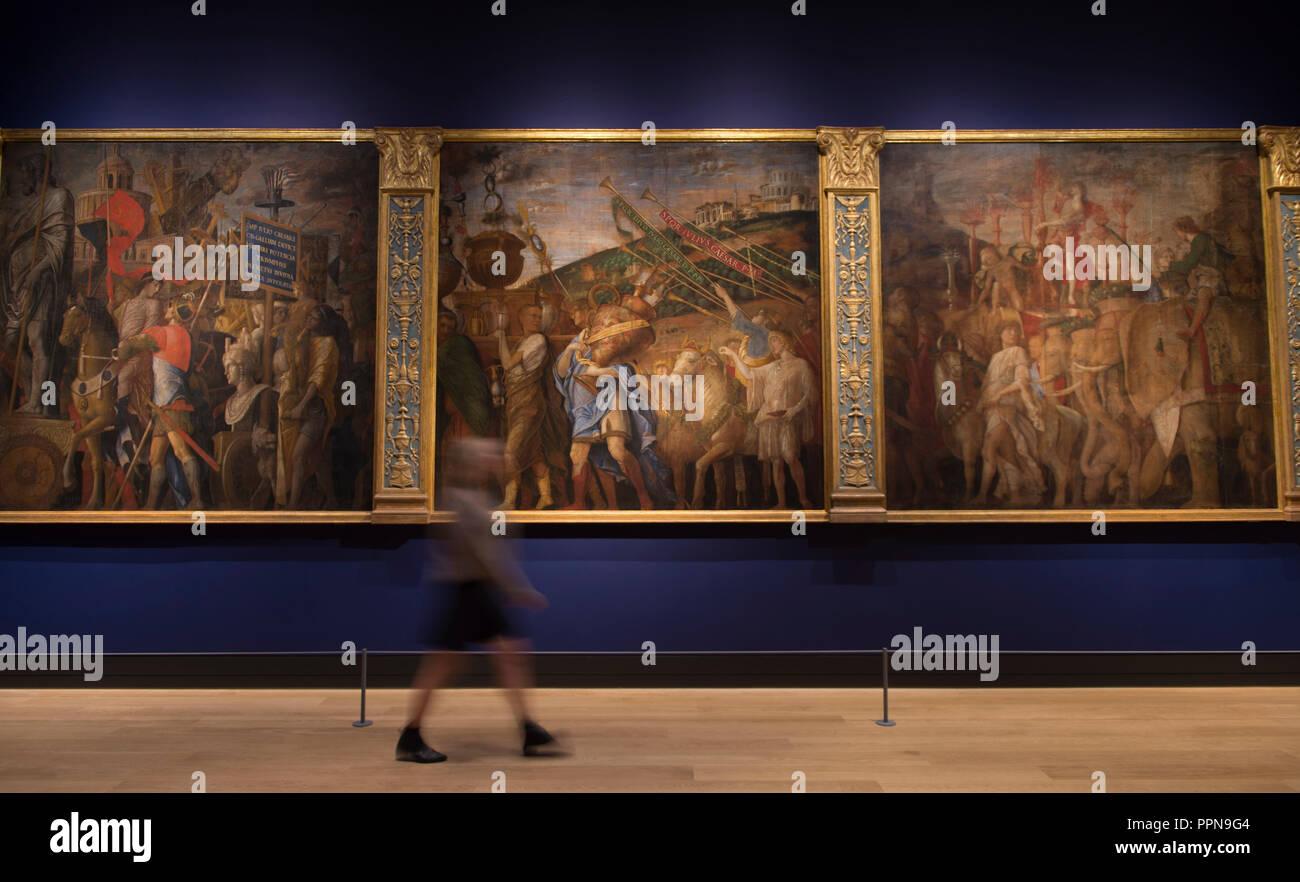 Andrea mantegna immagini andrea mantegna fotos stock alamy for La corte dei gonzaga mantegna