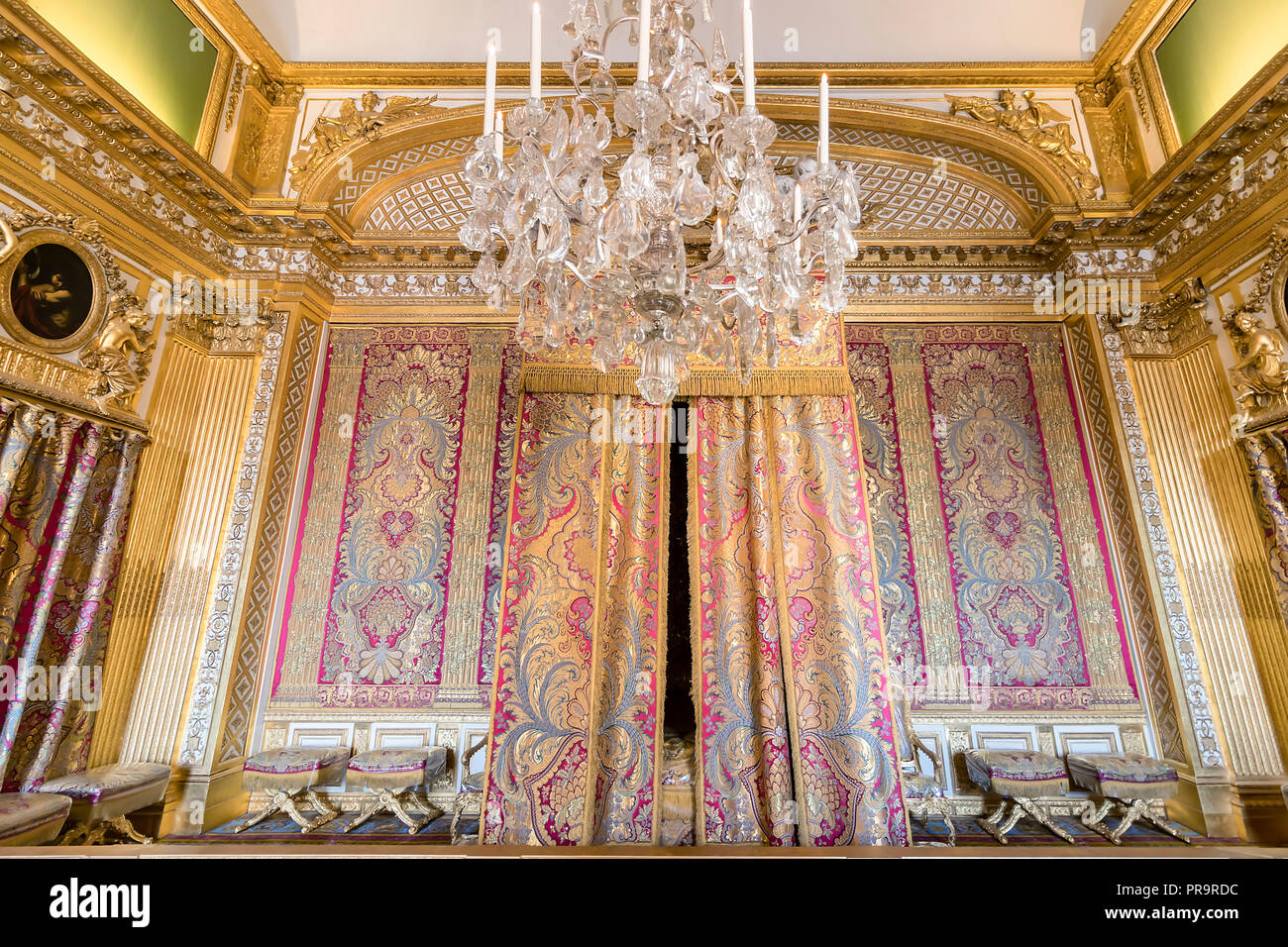 Bedroom of louis xiv immagini bedroom of louis xiv fotos stock alamy - Camera da letto del papa ...