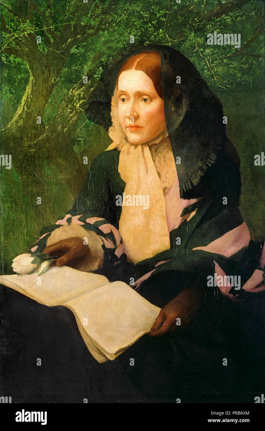 John Elliott, Julia Ward Howe, circa 1910-1925, olio su tela, National Portrait Gallery, Washington, Stati Uniti d'America. Immagini Stock