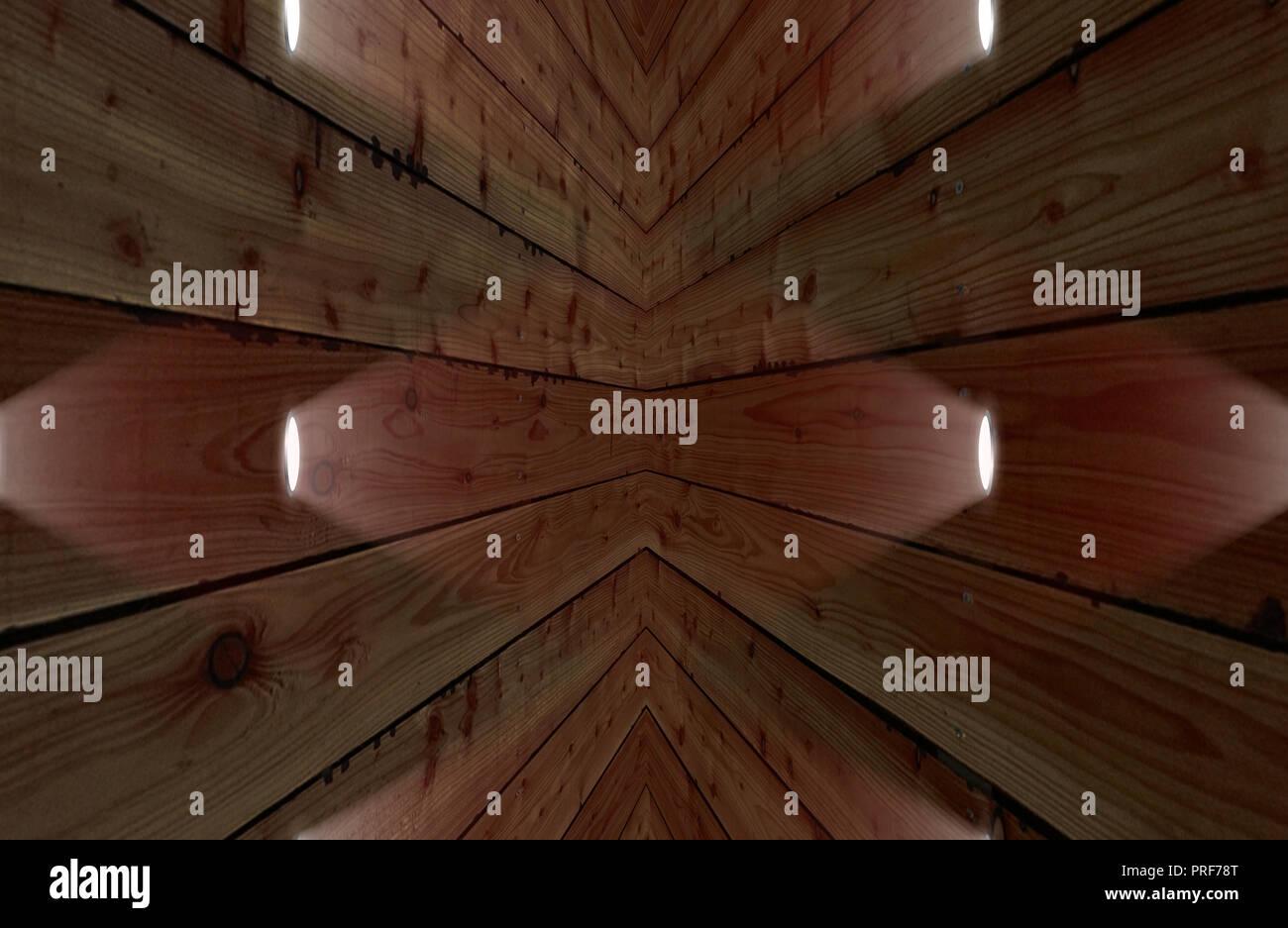 Faretti Da Incasso Legno il fienile marrone parete in legno & faretto da incasso