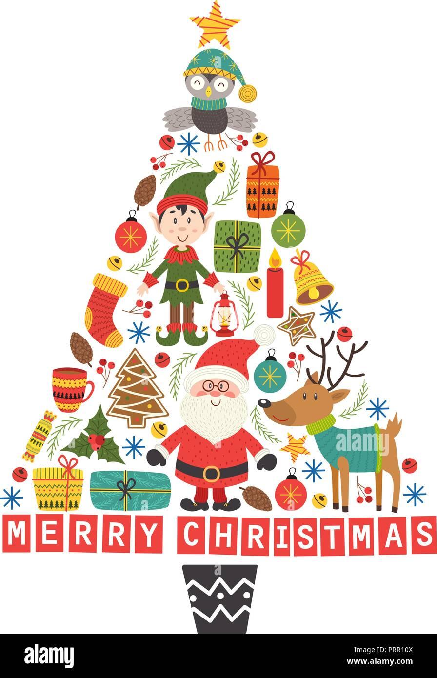 Immagini Natalizie Vettoriali.Vettori Di Natale Decorazioni Vettoriali Immagini Vettori Di