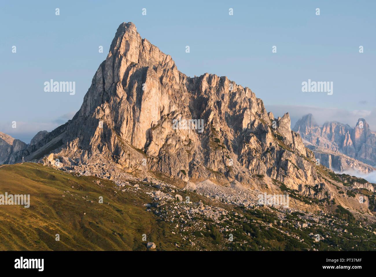Monte Nuvolau, Passo di Giau, Veneto, Italia Immagini Stock