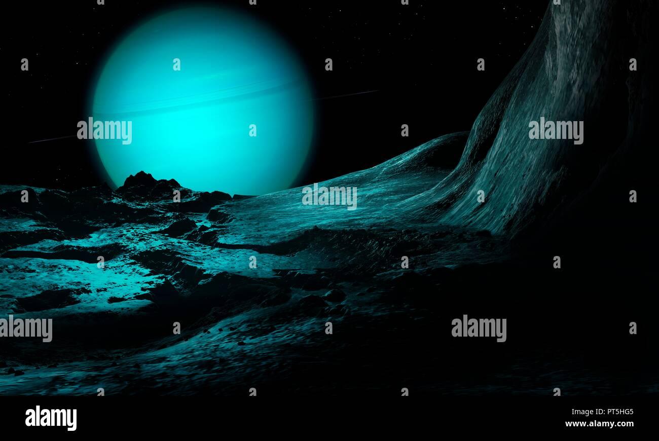 Satellite Uranus Immagini & Satellite Uranus Fotos Stock - Alamy