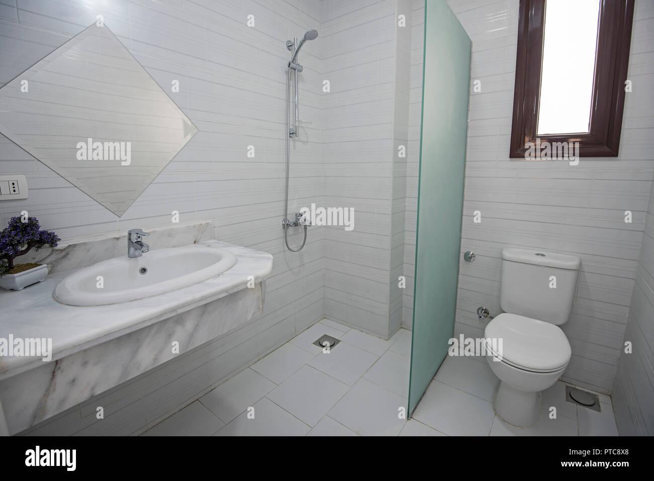 Design Bagno Con Doccia : Buono doccia con bagno turco il nella cabina design minimal di una