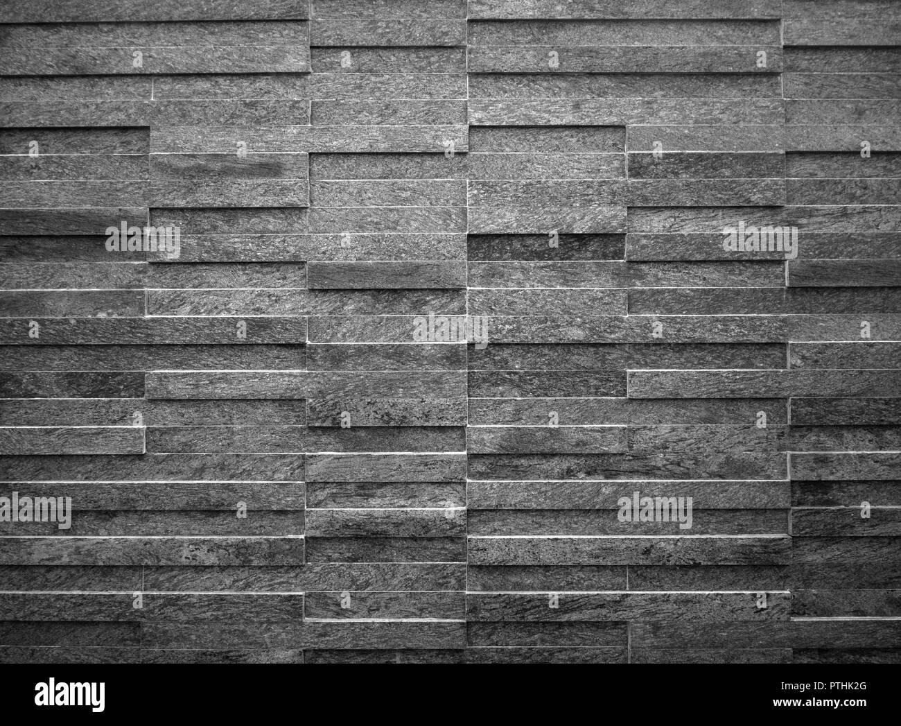 Moderno e di colore nero rettangolo bianco piastrelle sfondo