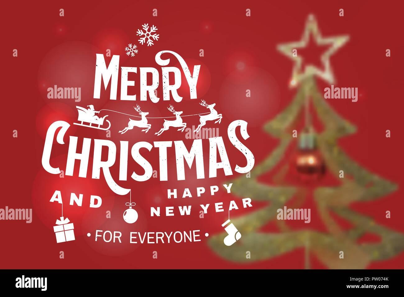 Adesivi Buon Natale.Buon Natale E Felice 2019 Anno Nuovo Timbro Adesivi Con Gli