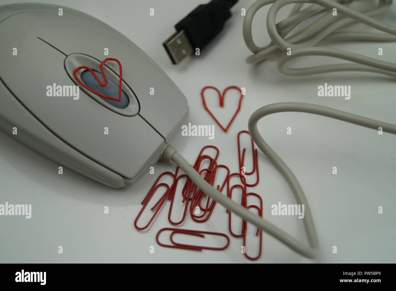 Amore in ufficio Foto Stock