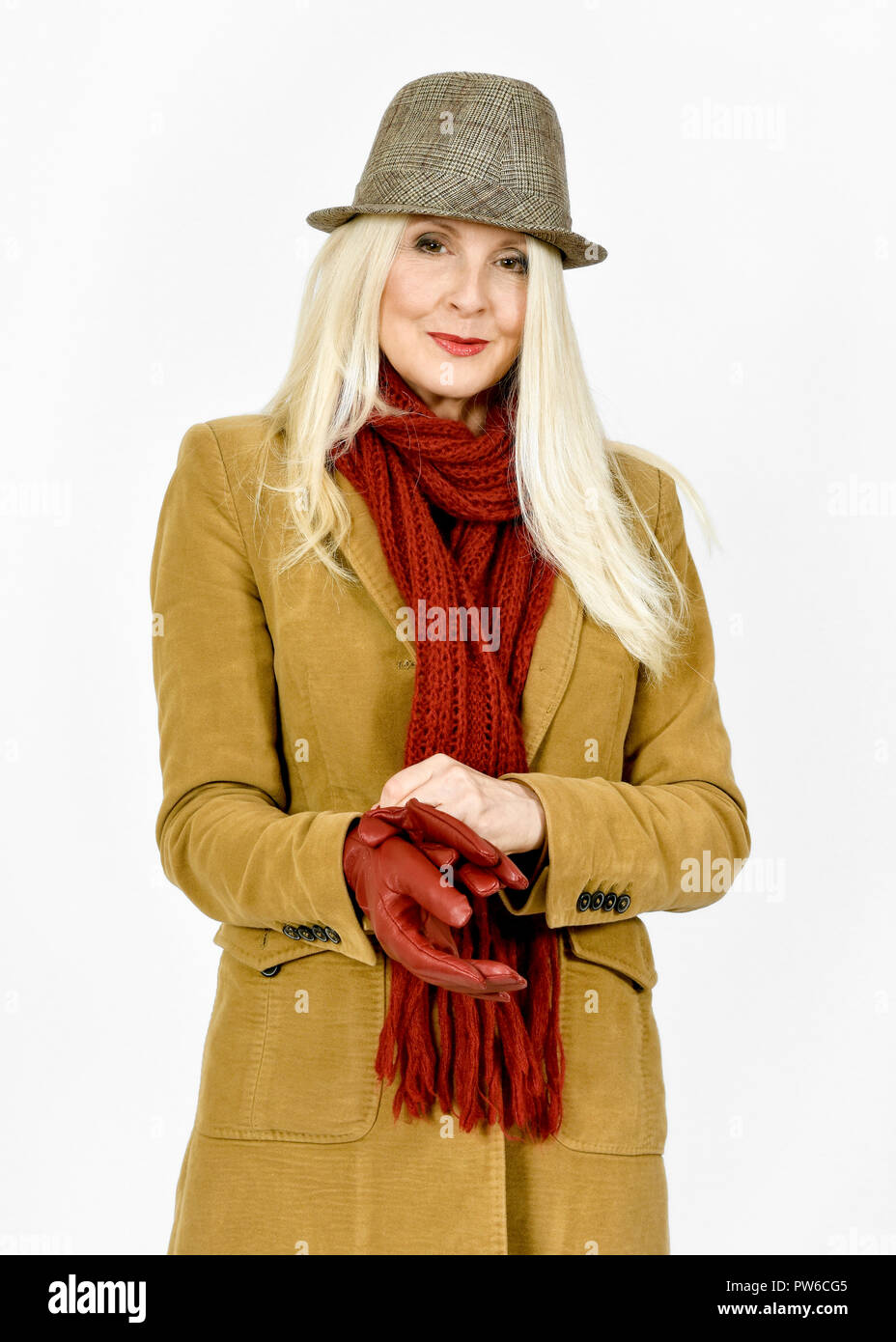 Leather Gloves Woman Immagini & Leather Gloves Woman Fotos