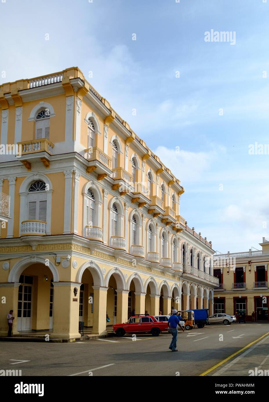 Edifici Coloniali spagnoli in Sancti Spiritus, Cuba Foto Stock