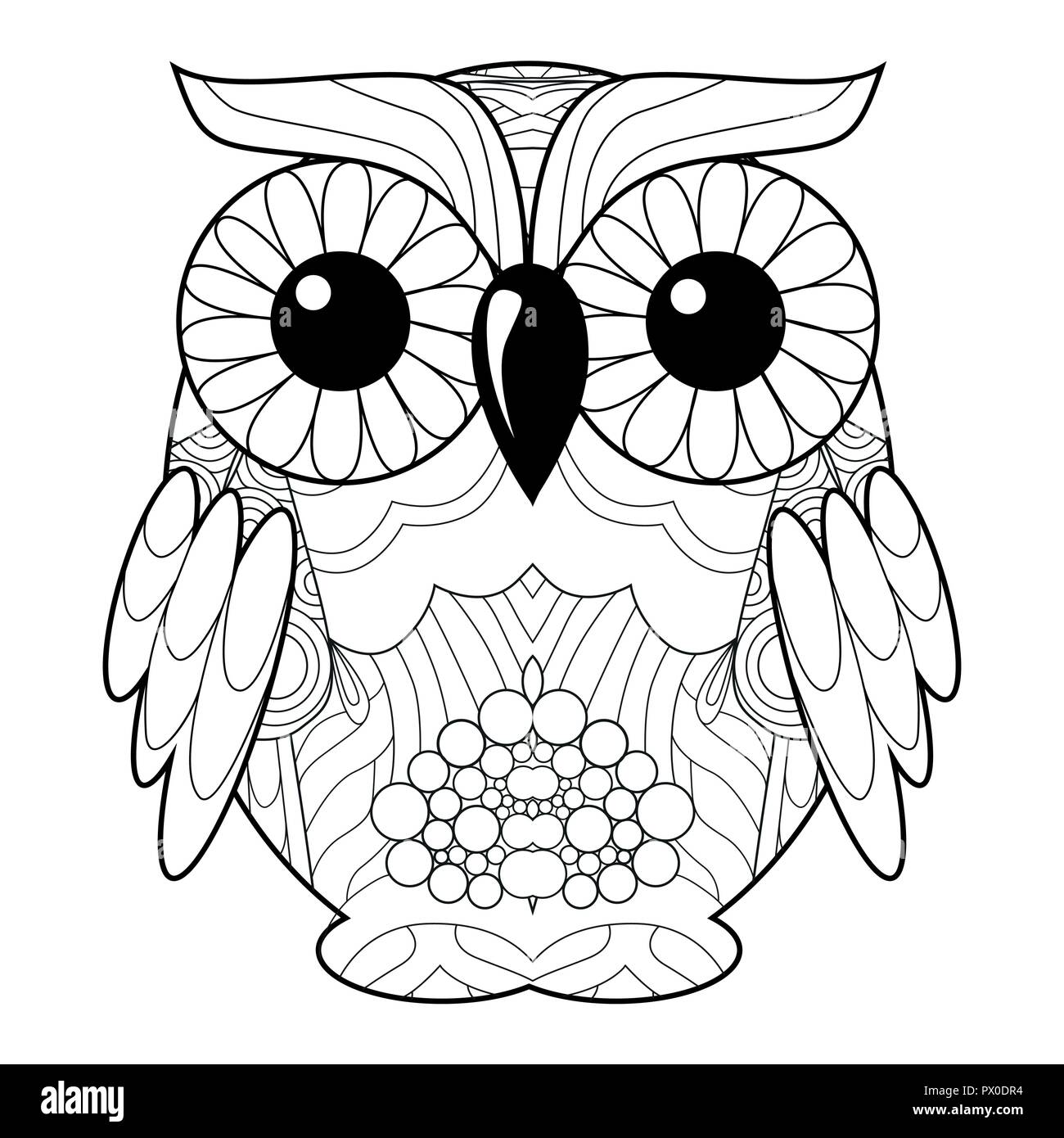 Coloring Book Face Immagini Coloring Book Face Fotos Stock Alamy