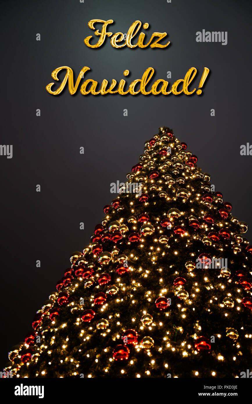 Buon Natale In Spagnolo.Vacanze Di Natale Spagnolo Immagini E Fotos Stock Alamy