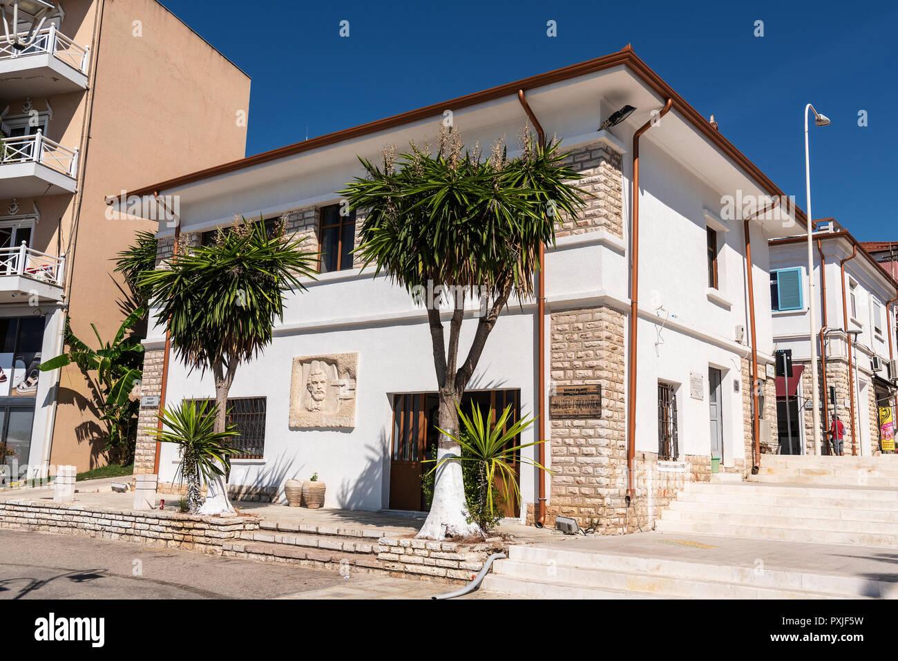 Museo etnologico, Museo delle tradizioni, Saranda, Albania Immagini Stock