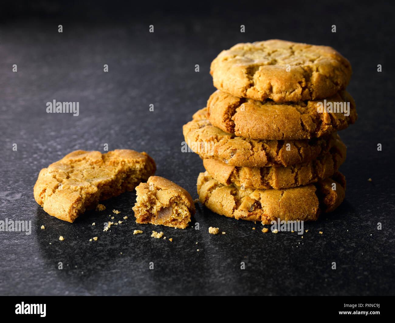 Biscotti allo zenzero Immagini Stock