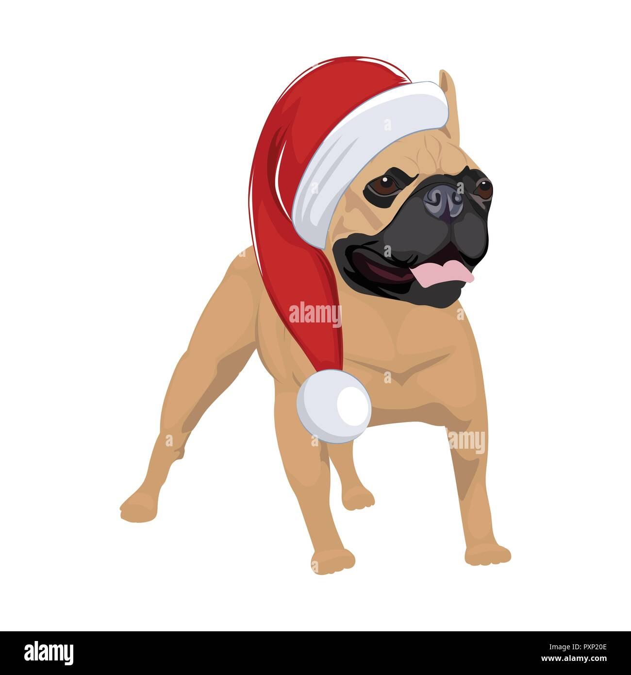Illustration cartoon puppy dog wearing immagini & illustration