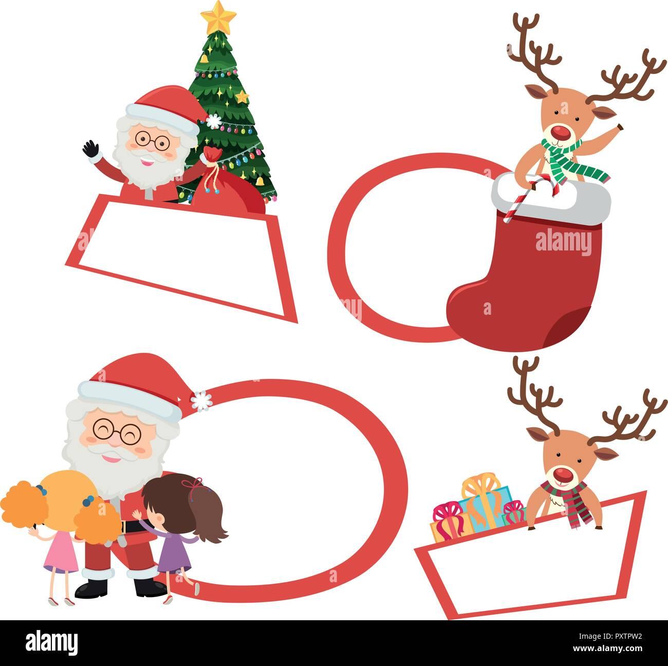 Etichette Natalizie Da Stampare etichette natalizie immagini e fotos stock - alamy