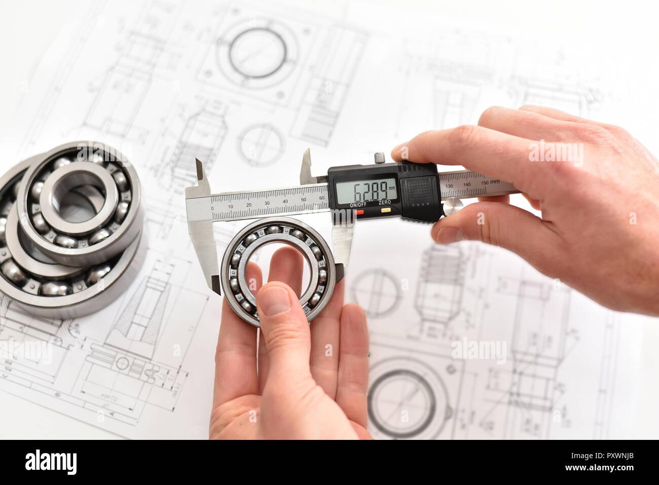 Controllo Di Qualità Nella Moderna Ingegneria Meccanica Misuratori