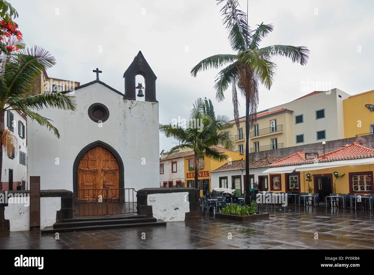 Capela do Corpo Santo Cappella in Funchal, Madeira Immagini Stock
