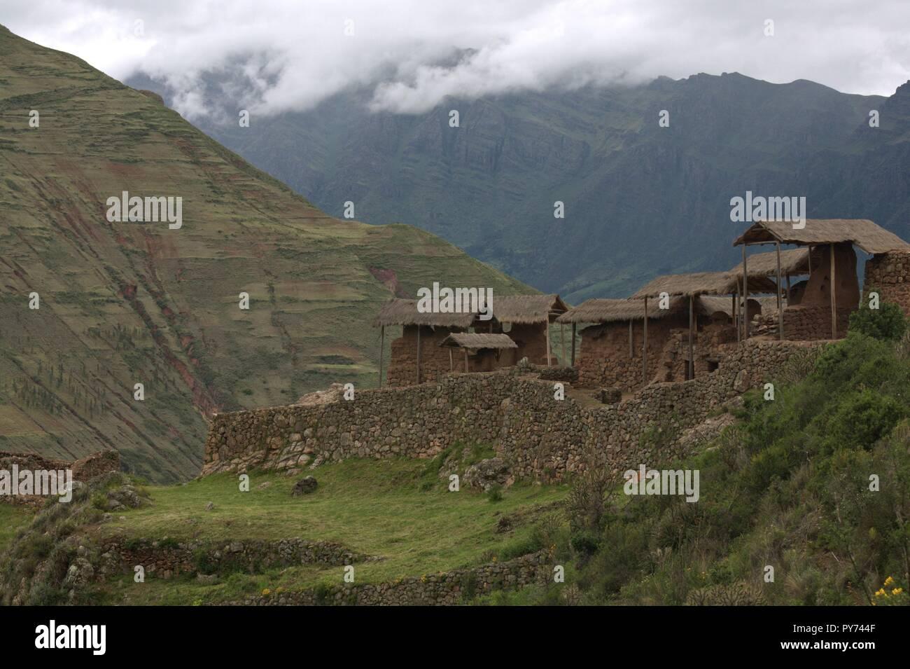 Cidades dos Incas Immagini Stock