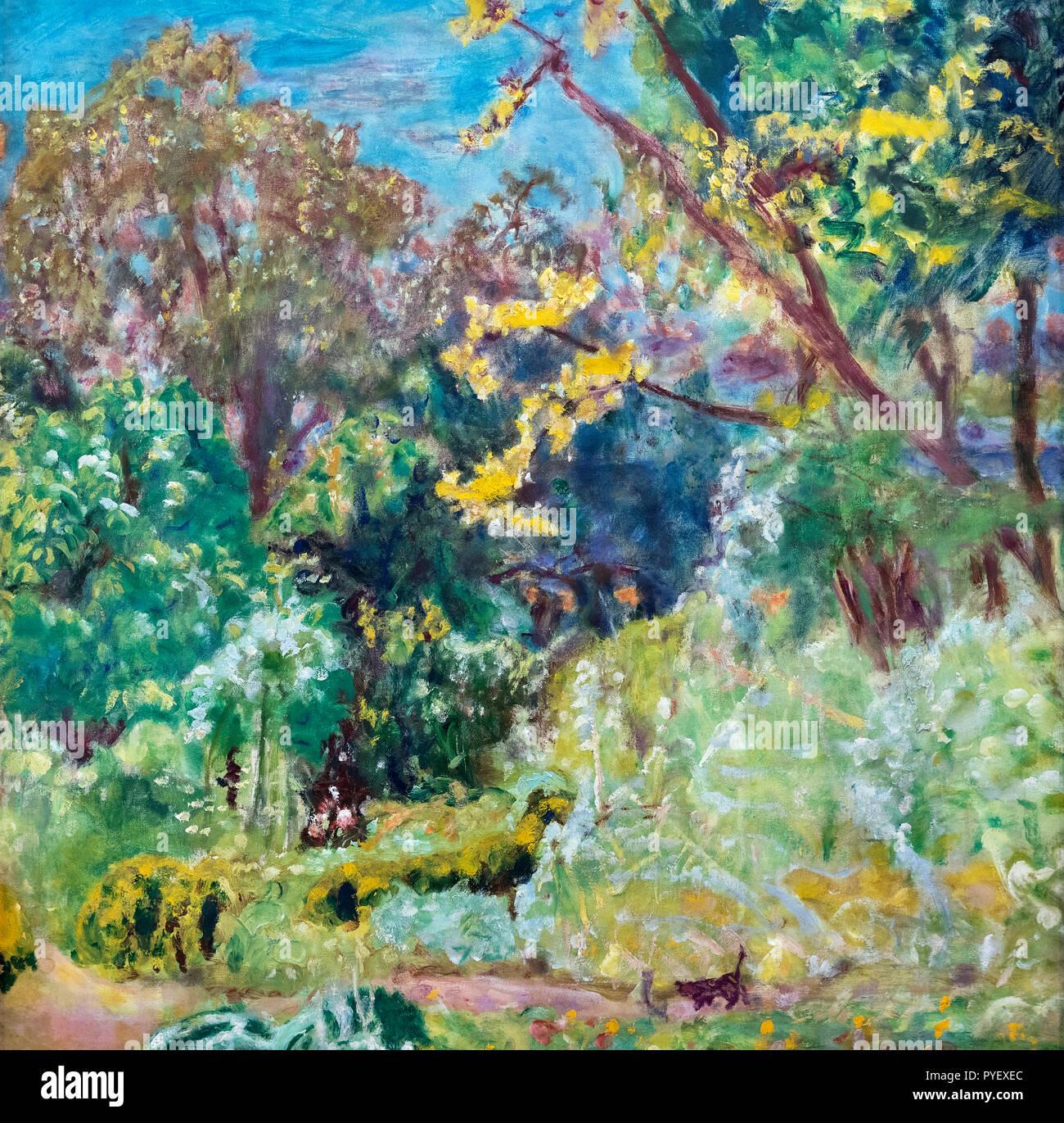 La luce del sole da Pierre Bonnard (1867-1947), olio su tela, 1923 Immagini Stock