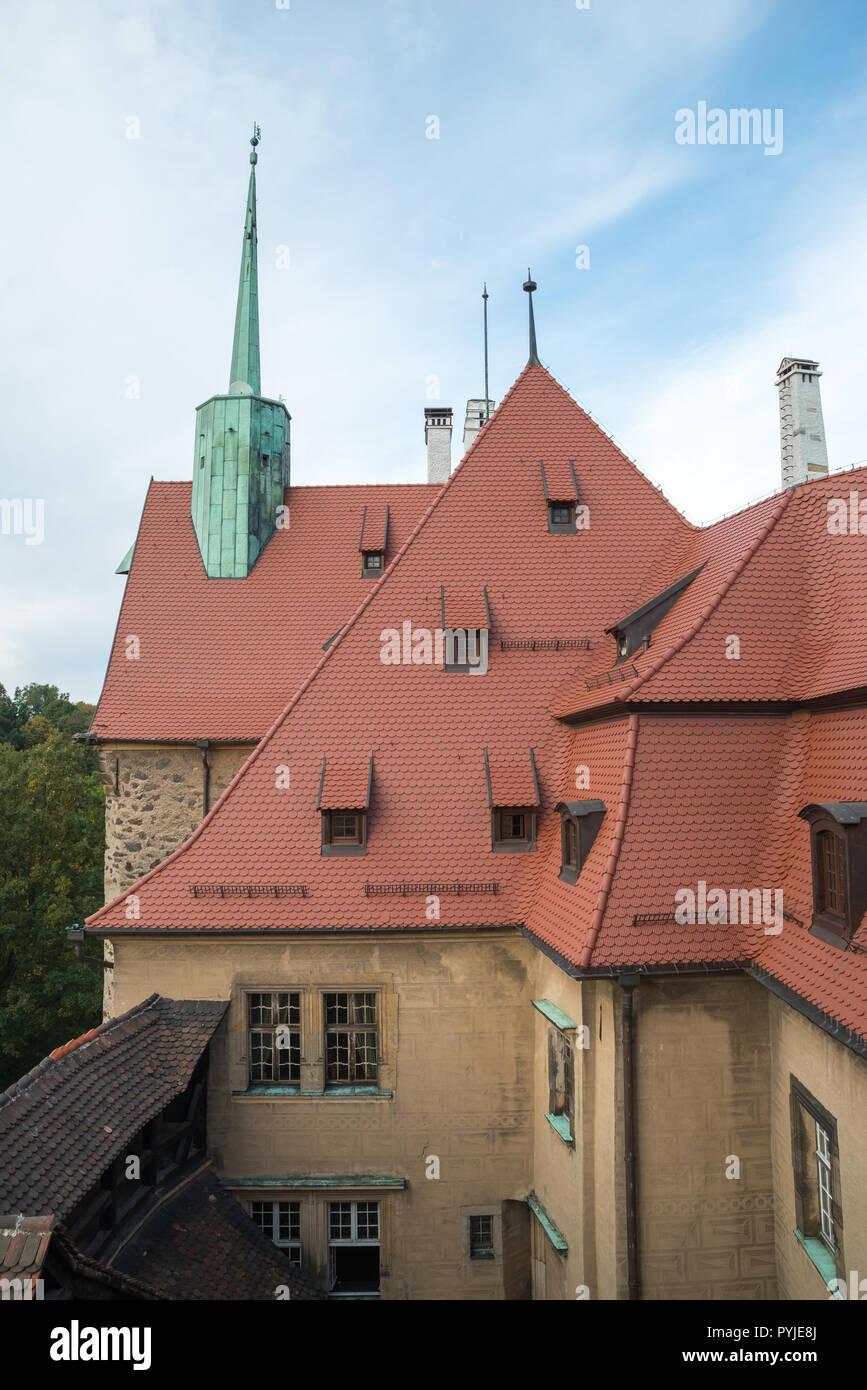 Voivodato Della Slesia Polonia il castello di czocha, bassa slesia voivodato, polonia foto