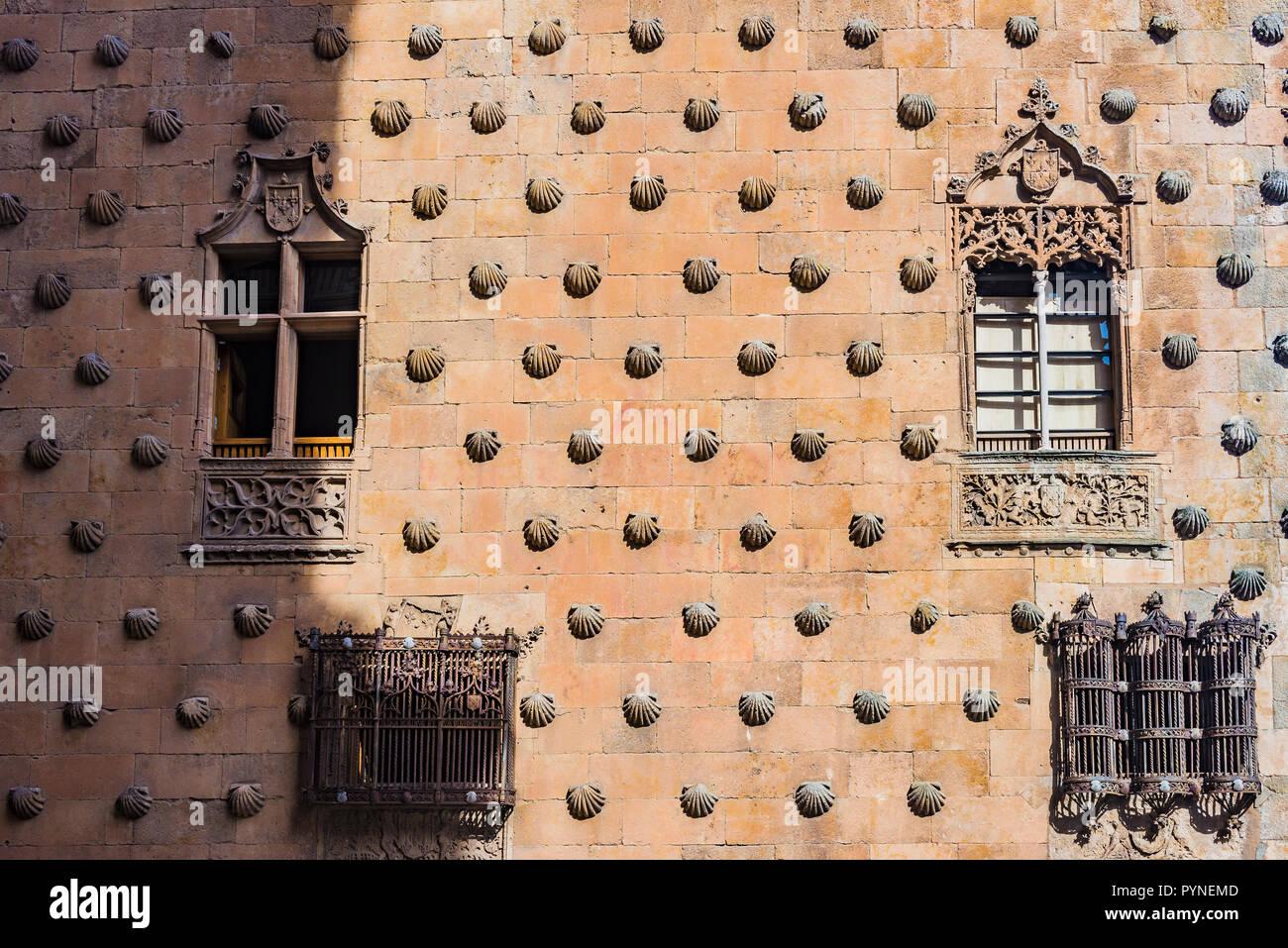Dettaglio Finestre In Stile Gotico La Casa De Las Conchas è Un
