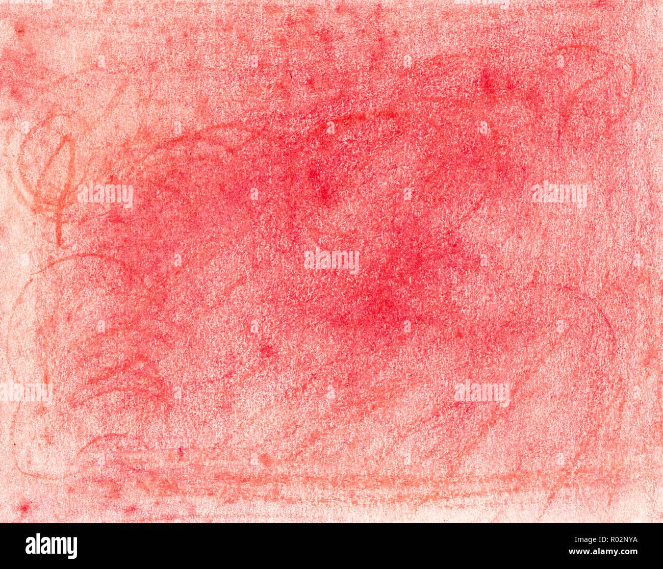 Pastello Olio Sfondo Rosso Foto Immagine Stock 223795918 Alamy