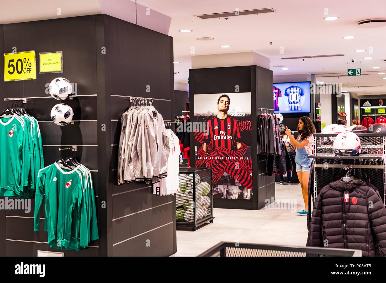 Body Neonato Smanicato Milanello Abbigliamento Ufficiale AC Milan ...