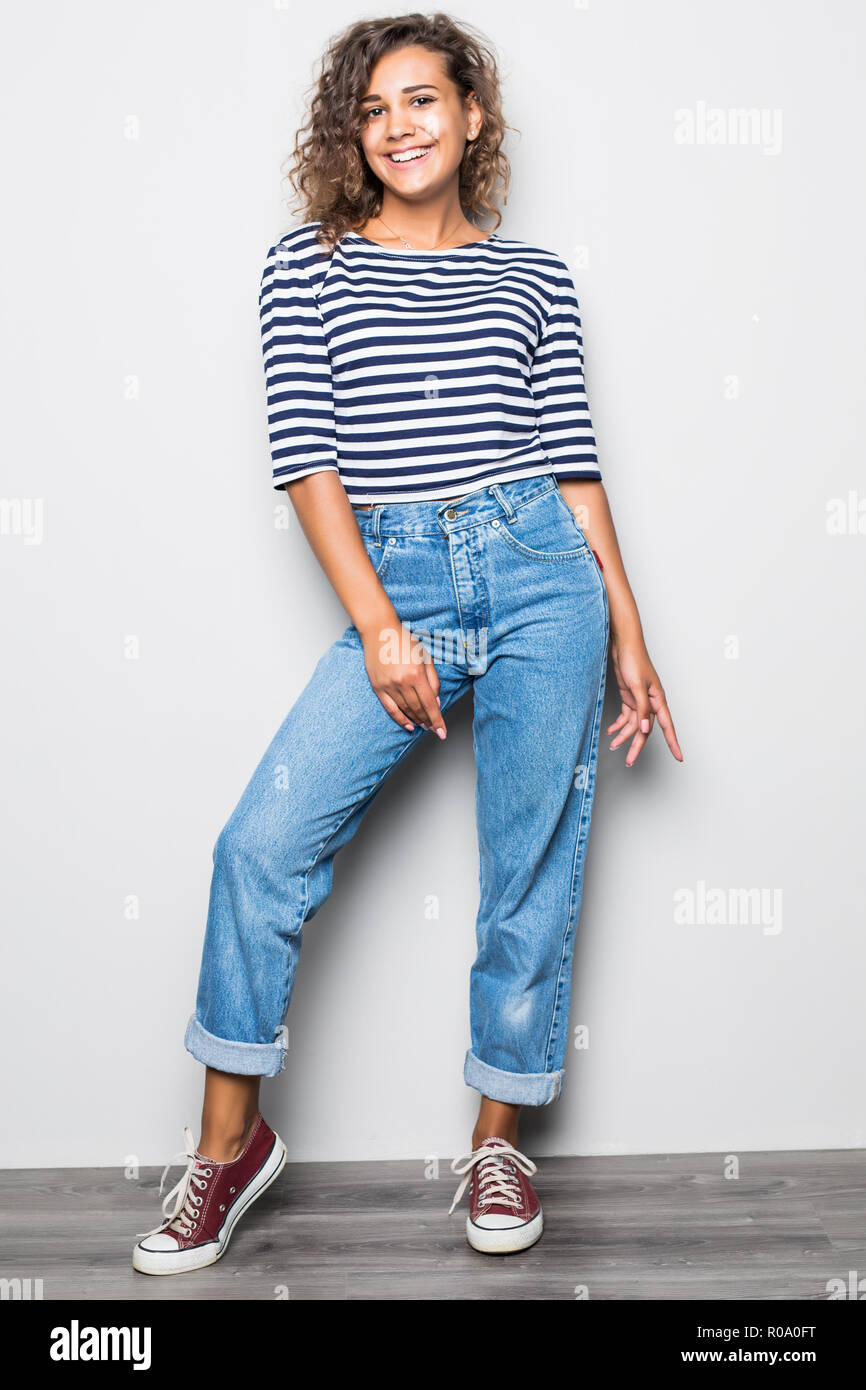 Donna Donna Donna E E E Maglietta Maglietta Jeans Jeans Maglietta Jeans bYyf7vg6