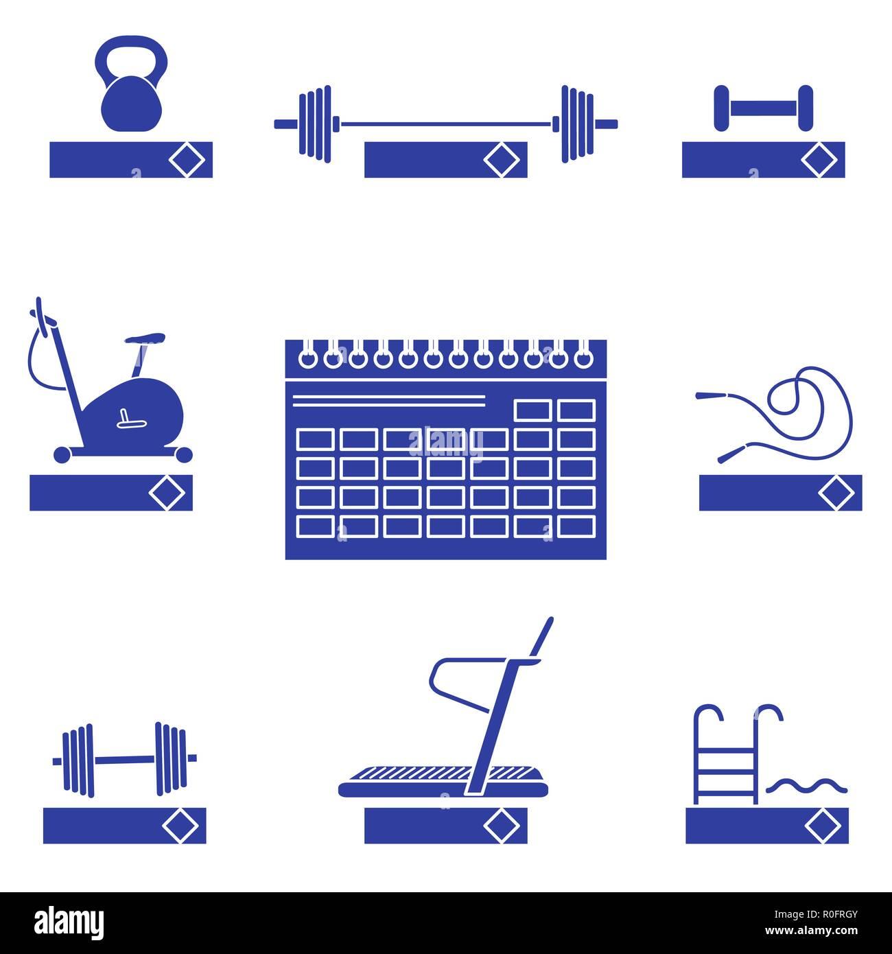 Parole Di Vita Calendario 2019.Tempo Per Il Fitness 2019 Il Concetto Di Fitness Con