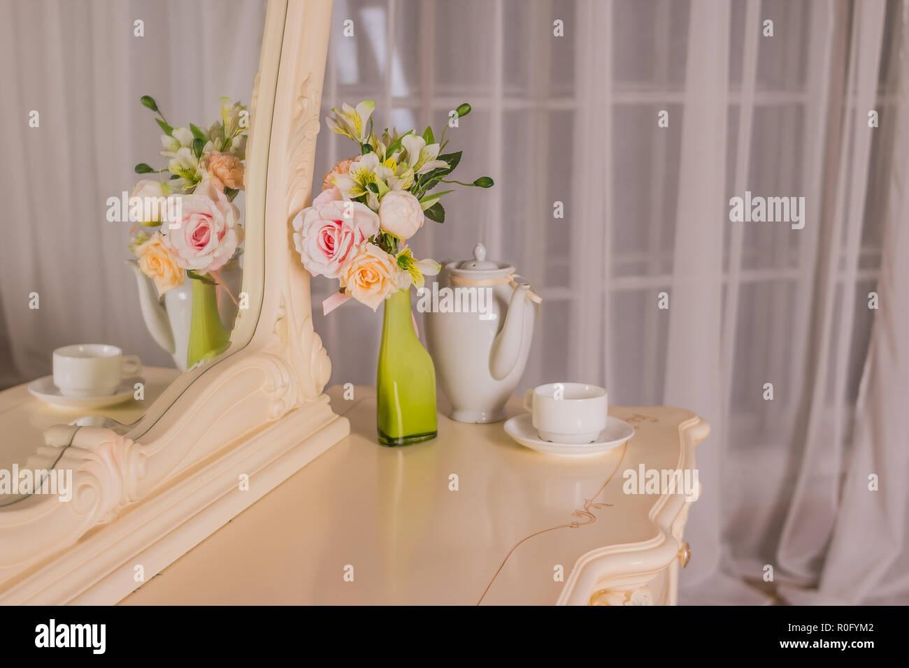 Immagini Di Camere Da Letto Per Ragazze : Boudoir tabella i dettagli dell interno della camera da letto per