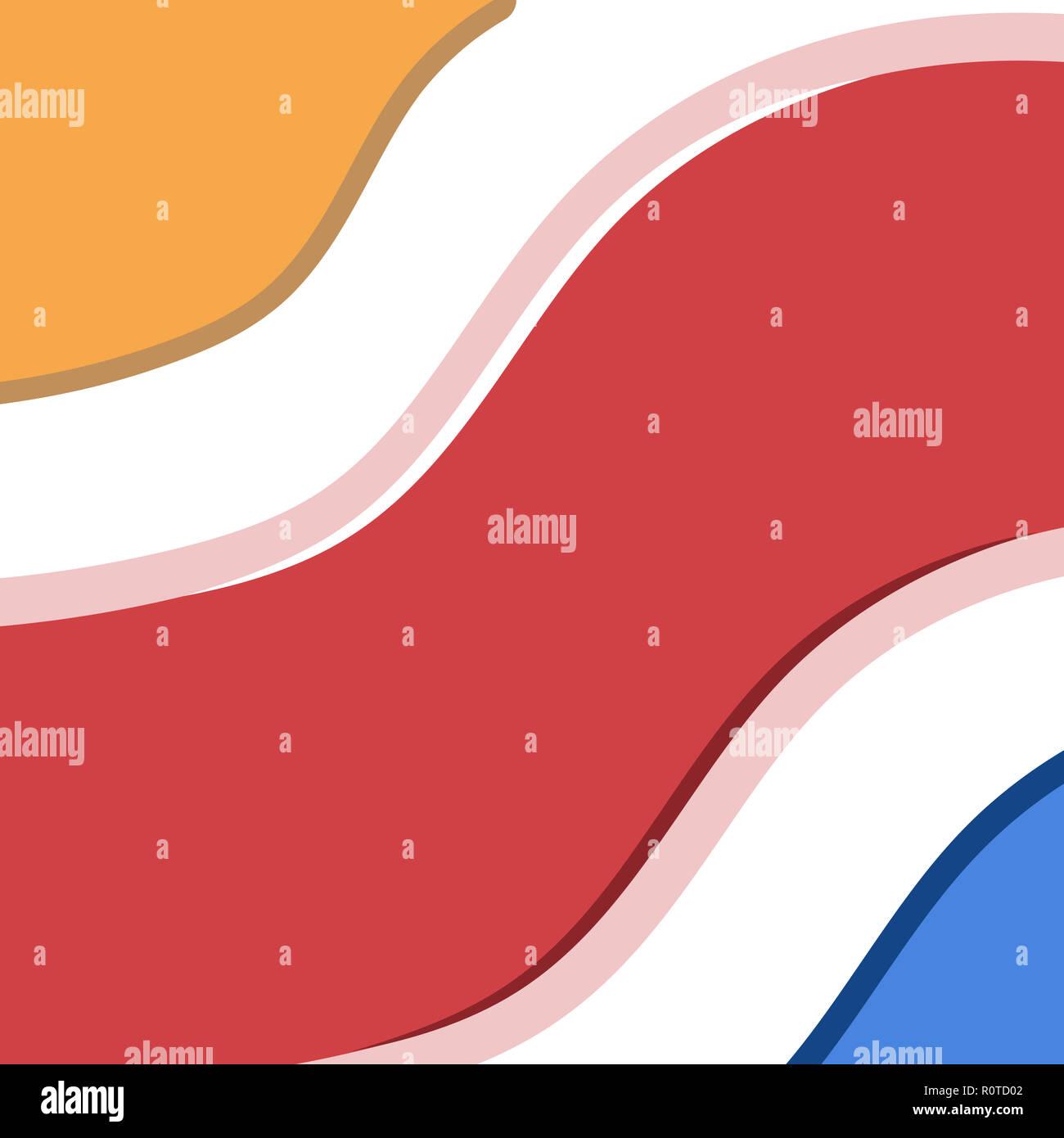 Coperchi minimale design. Colorate gradienti di mezzitoni. Futuro dei motivi geometrici. Eps10 file pronto Immagini Stock