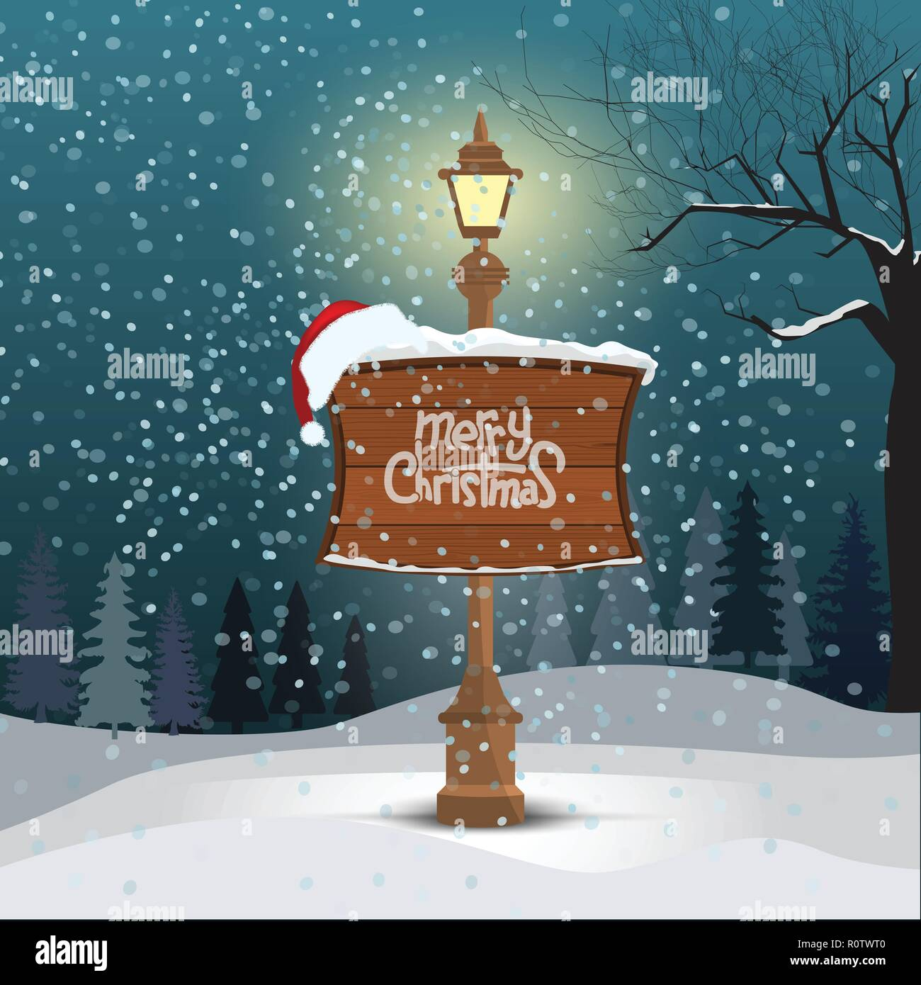 Buon Natale Freestyle Testo.Greeting Card Merry Christmas Snowy City Immagini Greeting Card