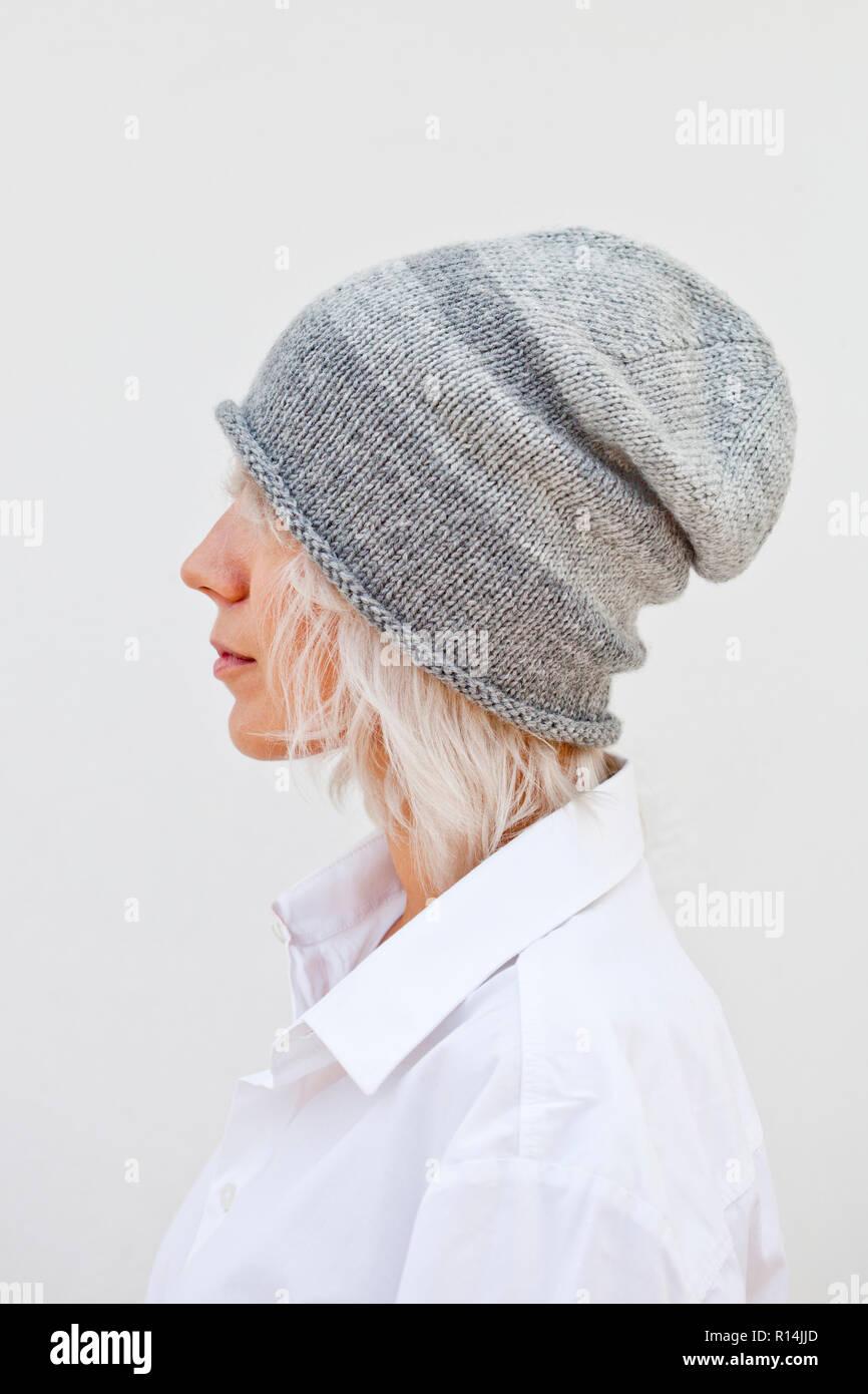 GRAVIS-Cavo a Maglia Cappello Beanie-Blu