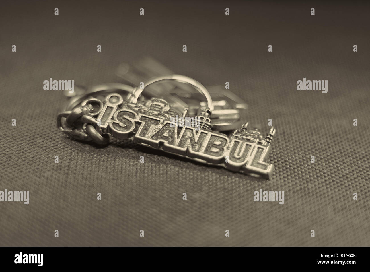 Il titolare della chiave da Istanbul Immagini Stock