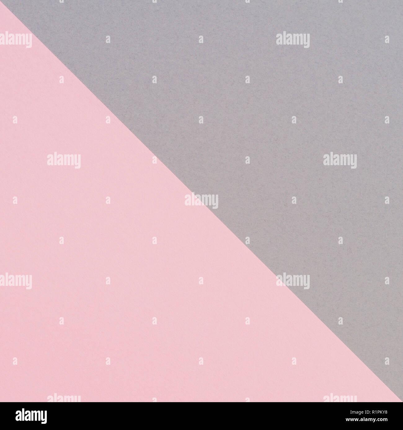 Abstract Forma Geometrica Grigio E Rosa Colore Sfondo Della Carta