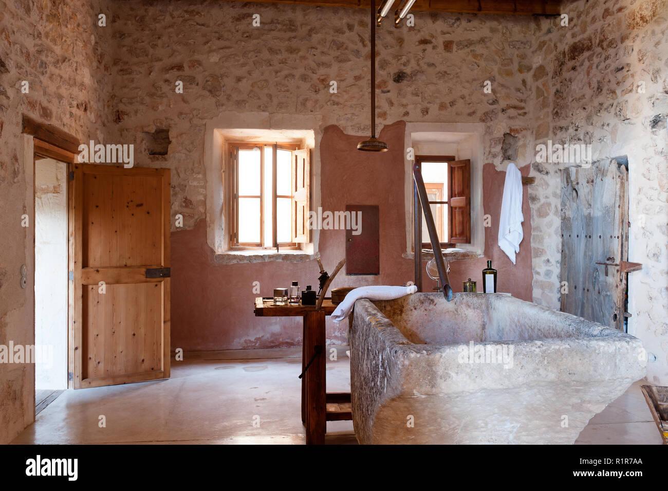 Vasche Da Bagno Hidrosan : Vasca da bagno rustica idee di vanità del bagno rustico