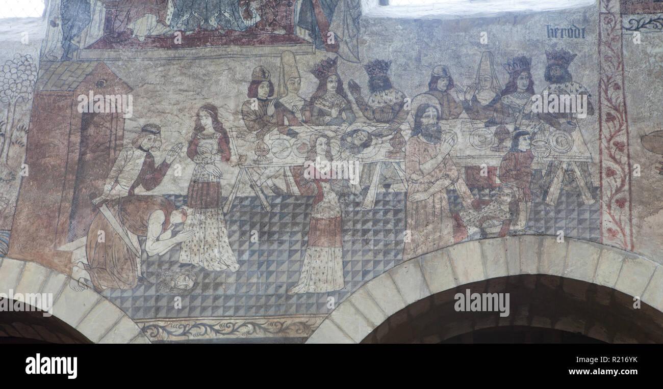 Pitture Murali Medievali Immagini E Fotos Stock Alamy