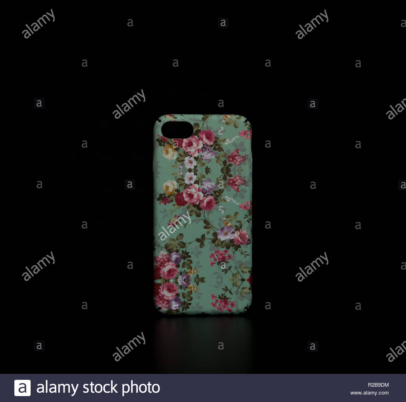 Design Floraw casi telefono per iphone Immagini Stock