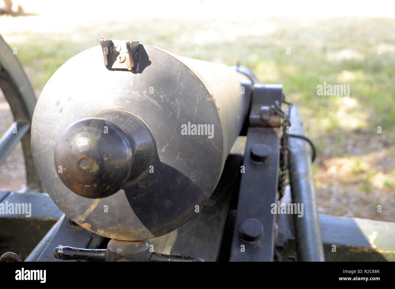Dettaglio di un epoca della guerra civile  cannone artiglieria utilizzato  in una guerra civile la 4df3bf877187