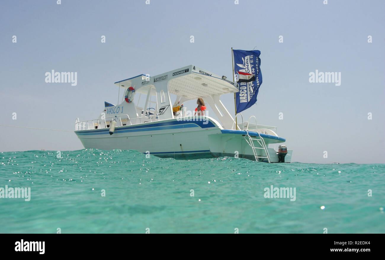 Vasco rennas surf yacht Immagini Stock